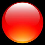 Aqua บอลไอคอนสีแดง