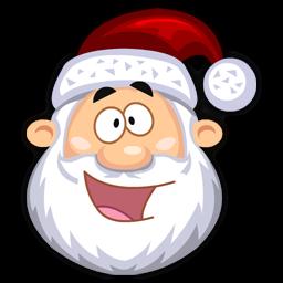 Happy SantaClaus icon