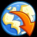 network downloads icon
