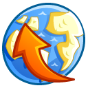 network uploads icon